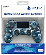 Manette sans fil Dual Shock 4 pour PS4 - Bleu camouflage