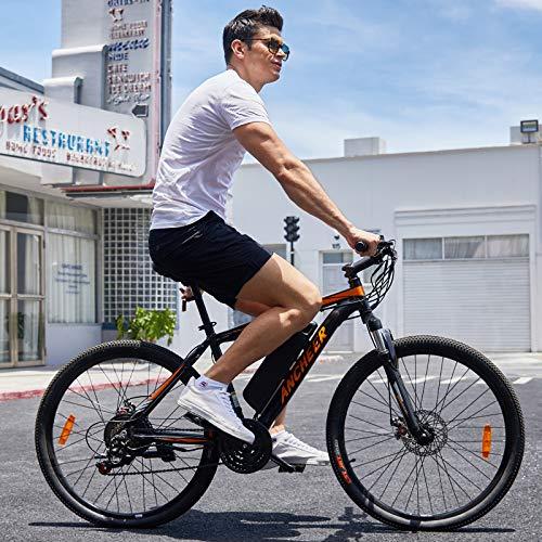 ANCHEER電動自転車電動マウンテンバイク