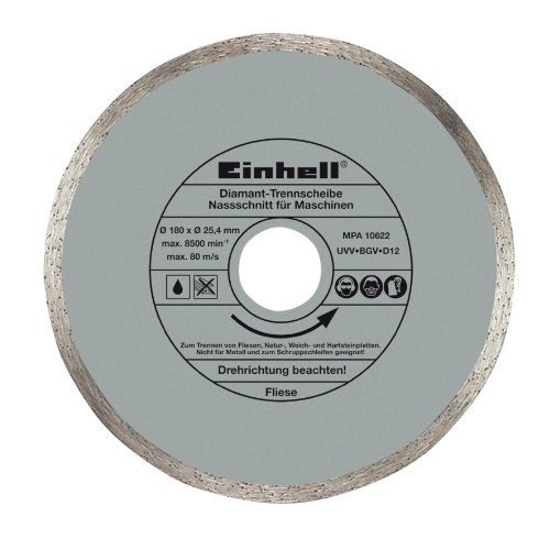 Einhell 4301170 Disco Diamante 180x25,4x1,6mm, 4mm