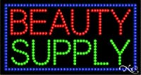 17x 32x 1cm Beauty供給アニメーション点滅LEDウィンドウサイン