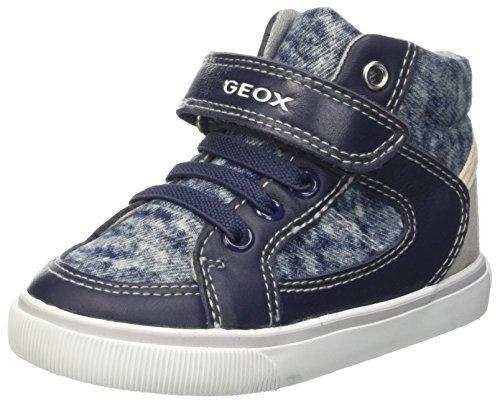 Geox Baby Jungen B Kiwi Boy F Lauflernschuhe, Blau (NAVY/GREYC0661), 22 EU