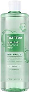 Nature Republic Good Skin Ampoule Cleansing Water 500ml / 16.90 fl.oz. (Tea Tree)