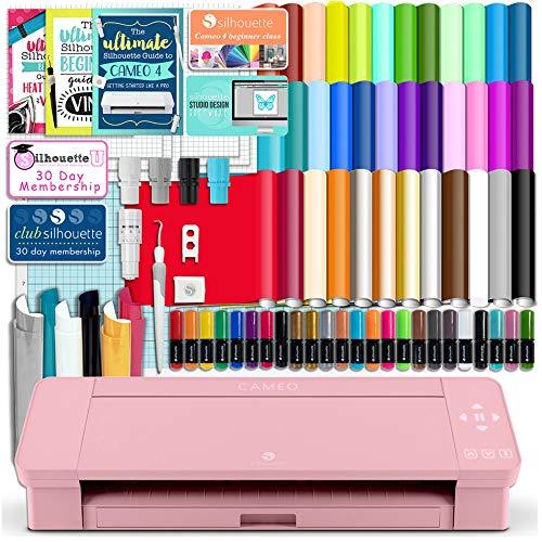 Silhouette Pink Cameo 4 Starter Bundle