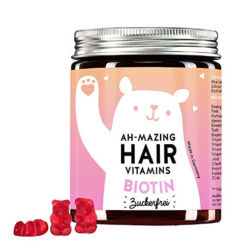 Bears with benefits Ah-Mazing Hair Vitamins con Biotina sin azúcar 0.15 ml