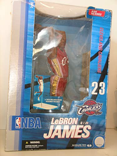 McFarlane Toys NBA Sports Picks 12 Inch Deluxe Action Figure LeBron James (Cleveland Cavaliers) by Unknown