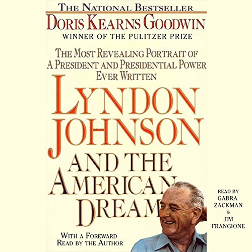 Couverture de Lyndon Johnson and the American Dream