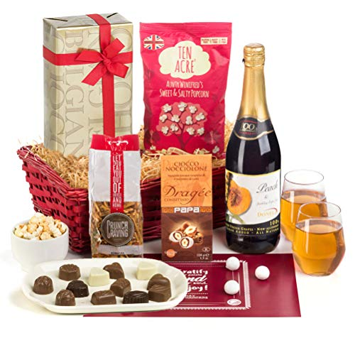 Hay Hampers Housewarming Hamper with Chocolate and Savoury Snacks