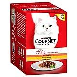 Gourmet Mon Petit Katzenfutter Mix Fleisch, 12 x 50 g