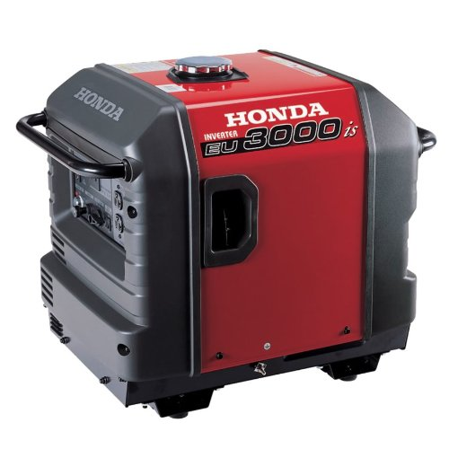 Honda Power Equipment EU3000IS 3000W 120V Portable Home Gas Power Generator