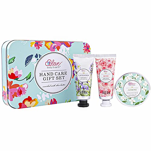 Hand Care Gift Set for Women - Travel Size Gift Set, Hand Cream Kit with...