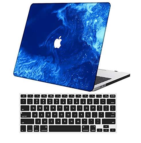 NKDCase Case for MacBook Pro 13 inch Retina Model A1425/A1502 Cut Out Design,Plastic Ultra Slim Light Hard Case Keyboard Cover Compatible MacBook Pro 13 inch No CD ROM/Touch,Landscape 39