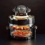 Triple poder de cocción Mo salud baja grasa freidora de aire Browning, asado y mejora de sabor Cocina Fabulosas comidas en casa.