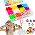 VENSEEN Rainbow Rubber Bands Bracelet Making Kit