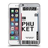 Head Case Designs Phuket, Thailand Kofferanhänger 2 Soft Gel Handyhülle Hülle Huelle und Passende Designer Hintergrundbilder kompatibel mit Apple iPhone 6 Plus/iPhone 6s Plus