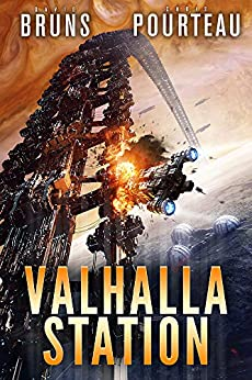 Valhalla Station: A Space Opera Noir Technothriller (The SynCorp Saga: Empire Earth Book 1) by [Chris Pourteau, David Bruns]