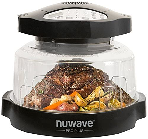 NuWave Oven Pro Plus Countertop Convection Oven with Triple Combo Cooking Power