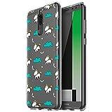 Funda Huawei Mate 10 Lite, Eouine Cárcasa Silicona 3D Transparente con Dibujos Diseño Antigolpes de Protector Bumper Case Cover Fundas para Movil Huawei Mate 10Lite - 5.9 Pulgadas (Unicornio)