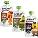18-Pack Sprout Organic Stage 2 Baby Food Pouches Variety Pack