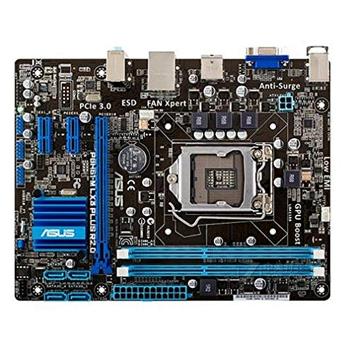 P8 H61-M LX3 Plus R2.0 Placa Base de Escritorio H61 Socket LGA 1155 I3 I5 I7 DDR3 (Negro)