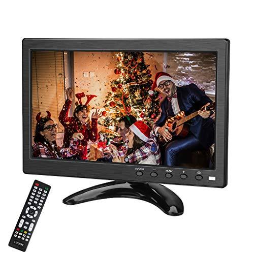 Kenowa 10.1 Zoll TFT LED klein Tragbarer Monitor 1366x768 mit HDMI VGA BNC AV USB Hafen Eingebauter Lautsprecher für Auto Backup Kamera PC TV Kamera Raspberry Pi Window 7 8 10 OS etc