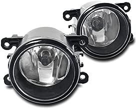 ZMAUTOPARTS Bumper Driving Fog Lights Lamps Chrome For Acura/Ford/Honda/Jaguar/Lincoln/Subaru/Suzuki