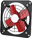 Aspiratore Bagno Aspiratore Vortice Ventilatore da bagno Estrattore, Fan di Estrattore Cucina Potente Finestra per uso domestico Tipo di scarico Aria Air Fan ad alta potenza Industriale Cucina Olio Sc
