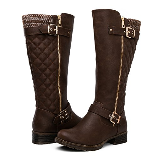 GLOBALWIN Women's KadiMaya16YY25 22Boots (8 M US Women's, Brown01)