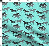 Pferd, Wildpferde, Cowboy, Wilder Westen, Bauernhof,