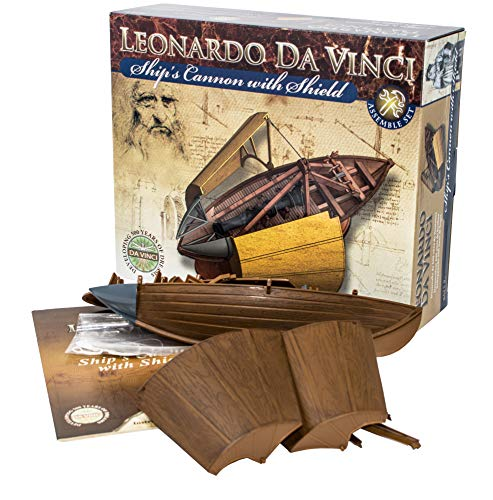 EDU-TOYS Leonardo da Vinci Leonardo da Vinci Cannon Boat Model Kit