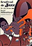 Festival Jazz San Sebastian Poster, Reproduktion, Format 50