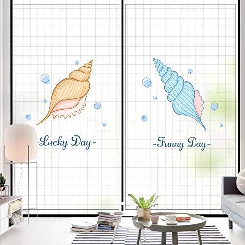 Schlafzimmer Fensterbank Aufkleber Bad Fenster Anti-Peep Milchglas Fenster Papier transparente undurchsichtige Folie elektrostatisch kleberfrei 60X90cm