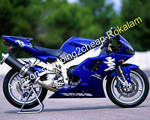 Pièces de moto pour YZFR1 1998 1999 Carénage YZF R1 YZF-R1 YZR1000 R1 98 99 Carénage Bleu (moulage par injection)