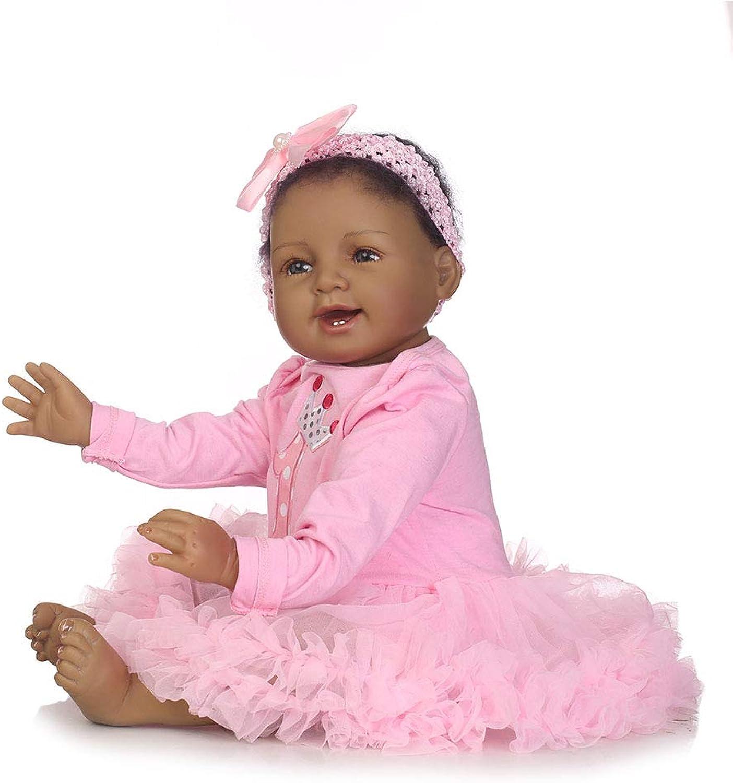 CHENG Reborn Babypuppen 55CM Likelike Vinyl Gewichteten Reborn Puppe Spielzeug Mit Tuch B07K1B7FKY Kaufen Sie beruhigt und glücklich spielen    Schöne Farbe