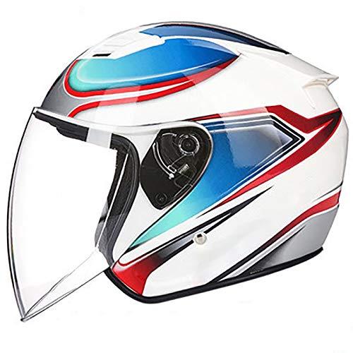 Casco De Moto Custom Homologado  marca ZLYJ