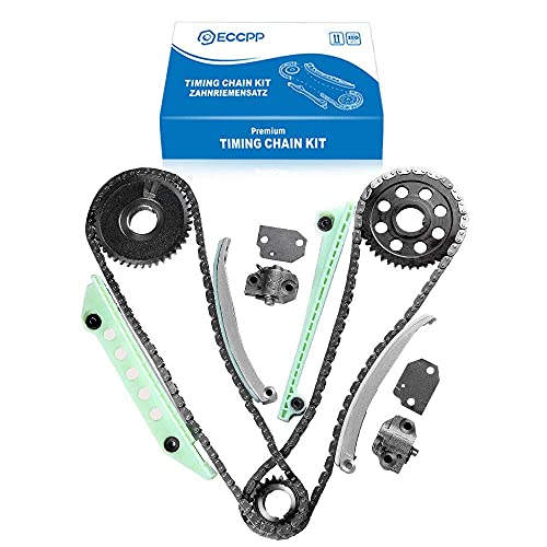 ECCPP Timing Chain Kit fits for 1997-2007 Ford E150 F150 Explorer Expediton 4.6...