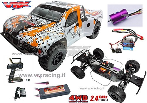Short Course Truck dt5ebl Brushless Off Road 1 10 RTR 4 WD 2 4 Ghz VRX*