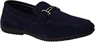 Genuine Leather Loafers Mens Casual Slip on Dress Shoes Driving Loafers for Men