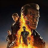DFCYT 5D Diy redondo diamante pintura la película Terminator diamantes de imitación imagen bordado...