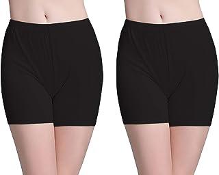 Braga Pantalon Bajo Vestido Mujer Boxer Short Leggings Cortos Antiroces