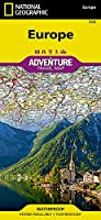 Europe Map (National Geographic Adventure Map)