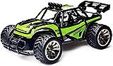 Coche RC 1/16 Juguete Todoterreno para niños 2.4GHz Coche de Control Remoto inalámbrico 4WD Bigfoot camión de Carreras de Deriva de Alta Velocidad Recargable Todoterreno Todoterreno para niñ