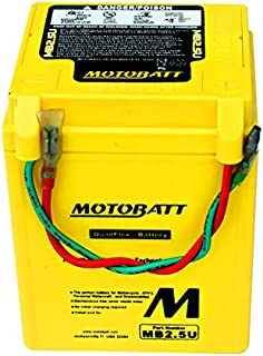 New MotoBatt Battery For Honda CB125RS CG125 MTX50 Motorcycles 31500-441-980