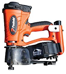 Paslode Cordless roofing nailer for roofing construction