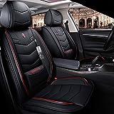 Housse siege voiture Housse de siège auto en cuir PU Jeu complet, for BMW F10 F11...