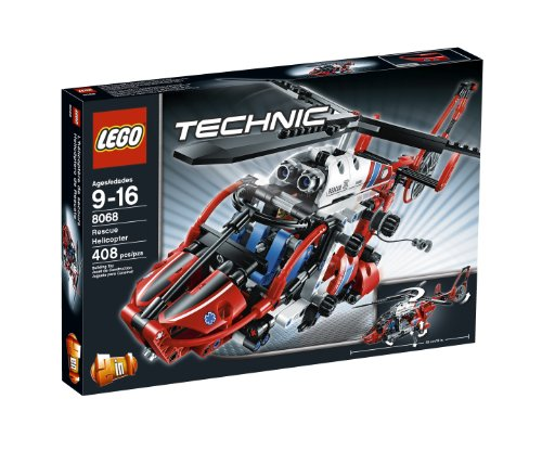 LEGO Technic 8068 - Helicóptero de Rescate