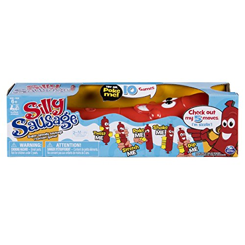 Silly Sausage-Interactive Kids\' Game with Sound and Button