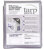 Kotap TUH-1212 Ultra Heavy-Duty 16-mil Reversible Poly Tarp ...
