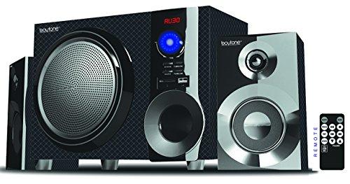 Boytone BT-215FD Wireless Bluetooth Stereo Audio Speaker 55 W with Powerful Sound, Bass System, FM Radio, Remote Control, Aux-in Port, USB/SD/for Phone's Laptops