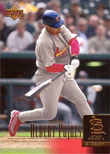 2001 Upper Deck Baseball #295 Albert Pujols Rookie Card