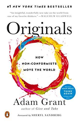 Originals: How Non-Conformists Move the World (English Edition)